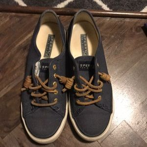 Sperry top-slide seacoat canvas